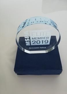 Skrivnostni nakup MSPA Elite priznanje 2019