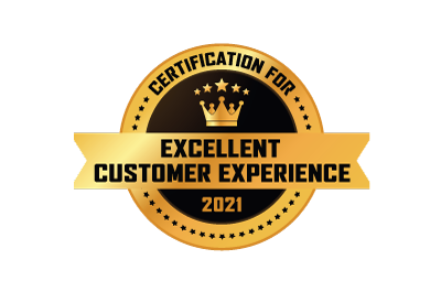 Certification for Excellent Customer Experience